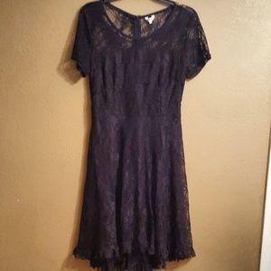 Dresses & Skirts - Women's Black lace dress
